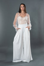 Load image into Gallery viewer, White Palazzo Pants