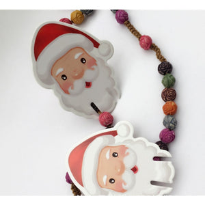 10pcs / Santa Hat Navidad Christmas Household Cup Card Decorations For Family Table Place Card Party Supplies