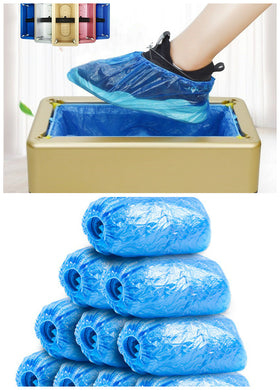 Automatic Shoe Cover Dispenser Disposable Shoe Covers Machine for Home Office can CSV