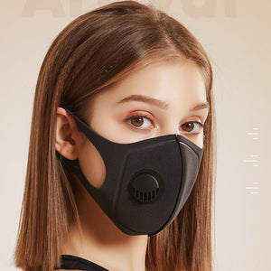 Dustproof Pollution Cotton Mask Ffp3 with Breath Valve Breathable Washable Reusable Unisex Hot Sale Mouth Masks