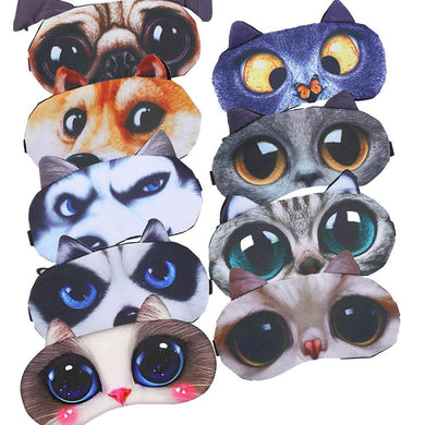 Cat Eyeshade Natural Sleeping Patch-Accessories-EthioTELL
