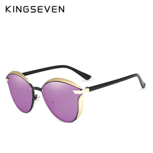 Cat EyeWomen Polarized Fashion Sun Glasses for Female UV400-Accessories-EthioTELL