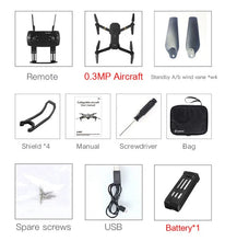 Load image into Gallery viewer, E58 WIFI FPV With HD Camera. Foldable Arm RC Quadcopter Drone-Accessories-EthioTELL