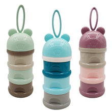 Load image into Gallery viewer, 3 layer Frog Style Portable Baby Food Storages-Kids & Babies-EthioTELL