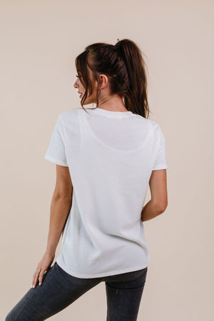 To Lounge Or Bike Top In Ivory