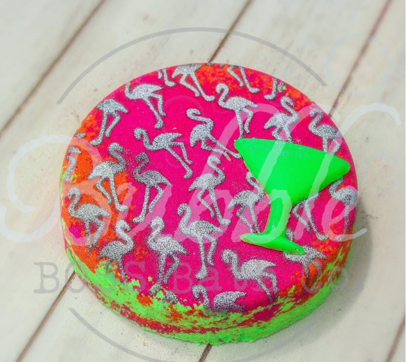 Bath Bomb - Martini Flamingo