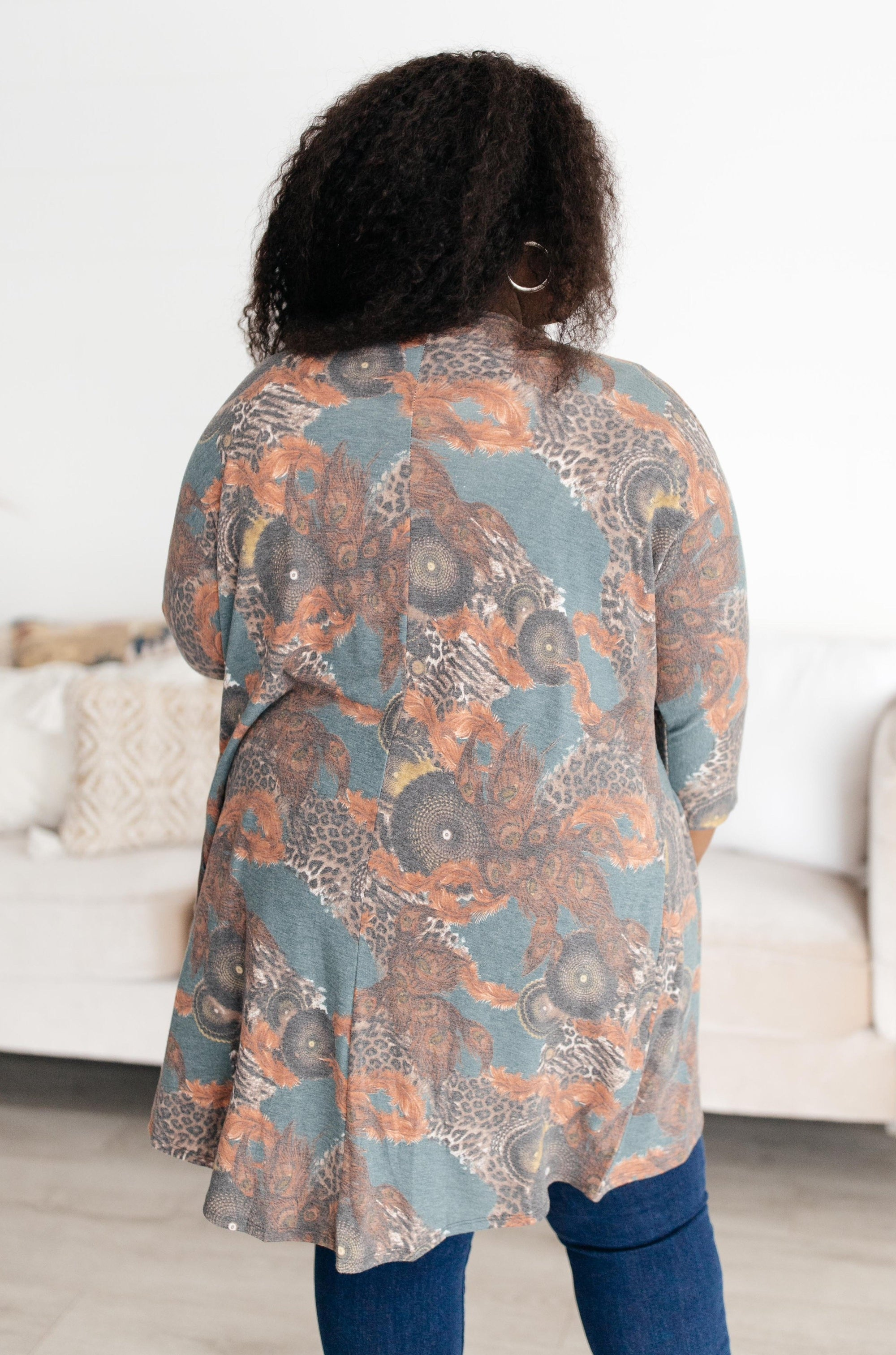 Abstract and Artistic Kimono