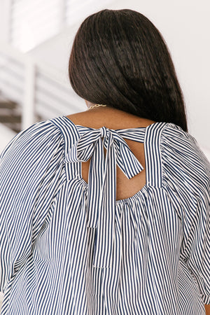 Bring It Back Stripes Blouse