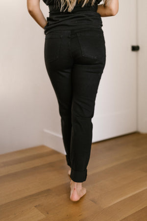 Judy Blue Devastatingly Dark Black Jeans