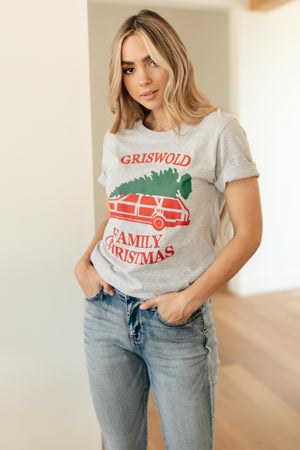 Griswold Family Christmas Graphic Tee - DCB Size Large