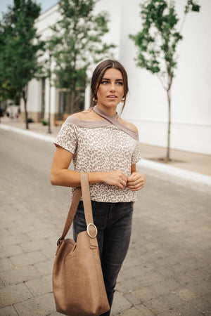 Lovely Leopard Top - DCB Small & Large