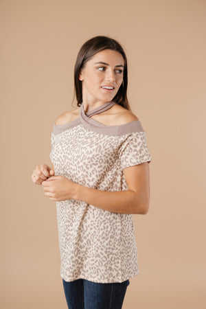 Lovely Leopard Top - DCB Size Small