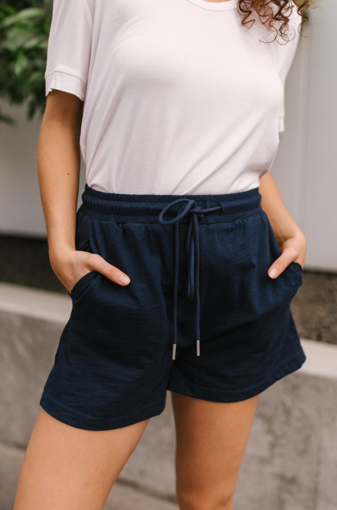 Modern Brenton Bottoms in Navy