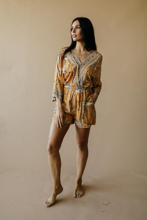 Sugar & Spice Autumn Romper - DCB Size Small