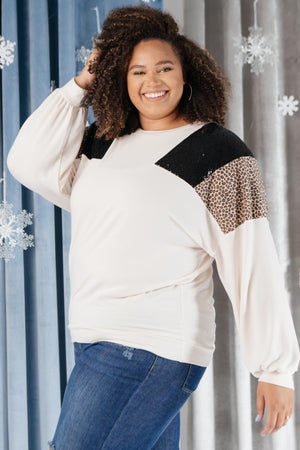 The Spotty Holiday Top