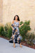 Timeless Neutral Tie Dye Maxi Dress - DCB Size Large