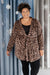 You Time Robe in Leopard - DCB Size Large