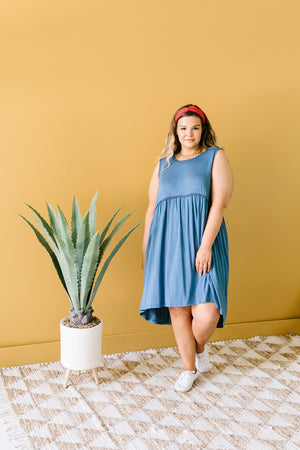 All The Trimmings Babydoll Dress