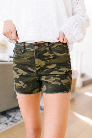 Army Of One Camo Shorts