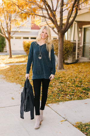 At Ease Slate Tunic