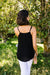 Basic Black Tank - DCB Size Medium