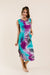 Cool Vibes Tie Dye Midi Dress
