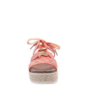 MADELINE GIRL - DREAM ON in MANDARIN Wedge Sandals