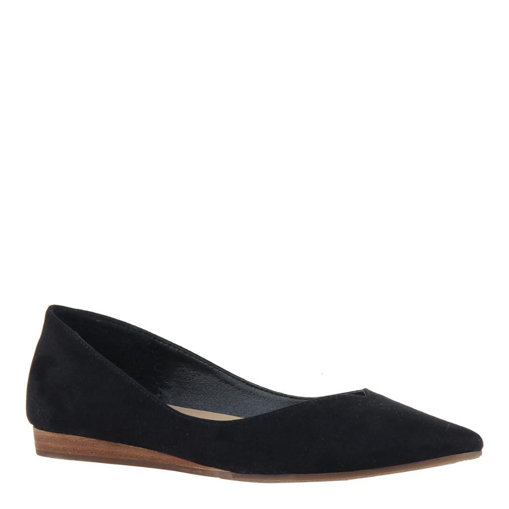 MADELINE - DREAMLIKE in BLACK Ballet Flats