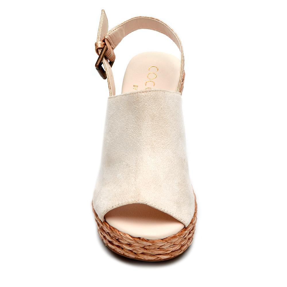 Matisse Frico Wedge in Ivory - Rural Haze