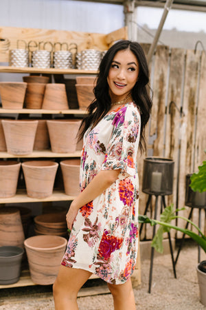 Glorious Garden Floral Dress