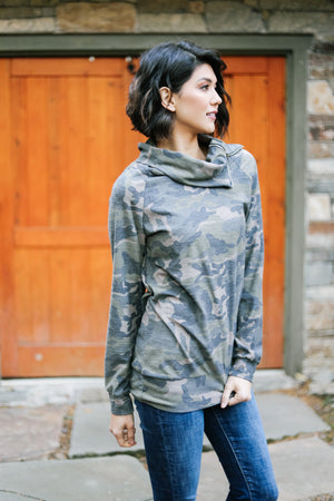 Got Your Six Camo Pullover