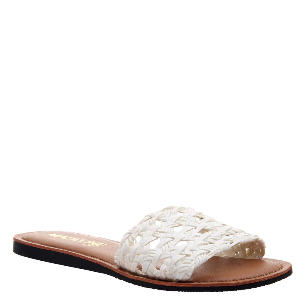 MADELINE GIRL - HUE in WHITE Flat Sandals