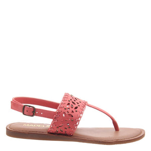 MADELINE GIRL - ICON in CORAL Flat Sandals