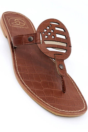 LORI-1 BROWN CROCO