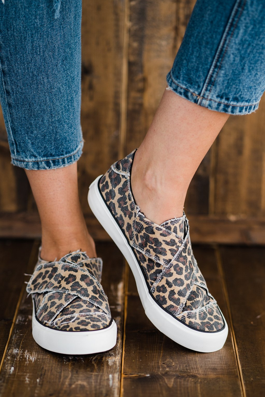 Very G Ivette Sneaker in Leopard