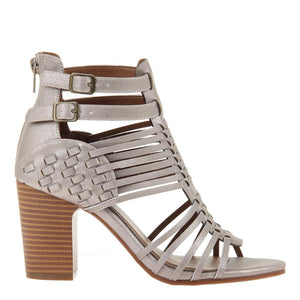 MADELINE GIRL - KWEEN in CROST BONE Heeled Sandals
