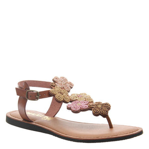 MADELINE GIRL - LUST in BROWN SUGAR Flat Sandals