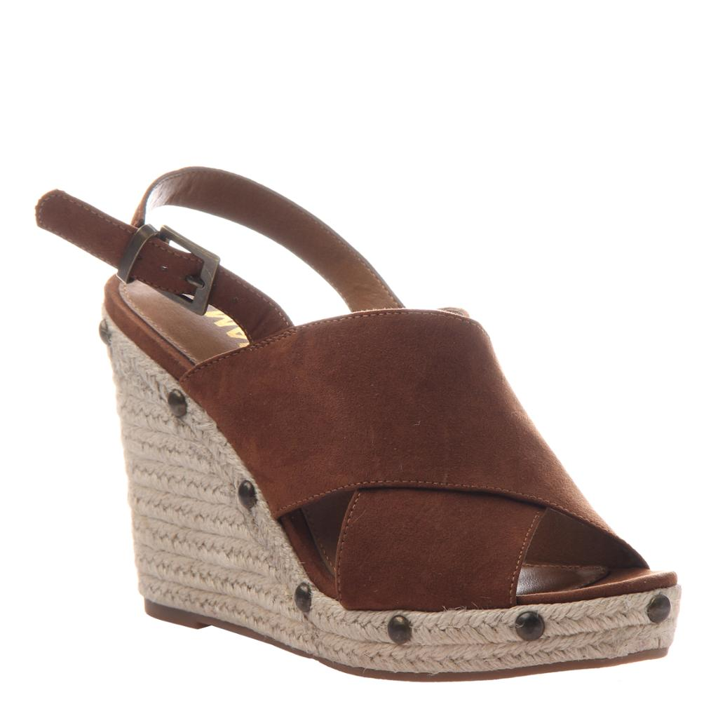 MADELINE GIRL - MELON in HAVANA Wedge Sandals