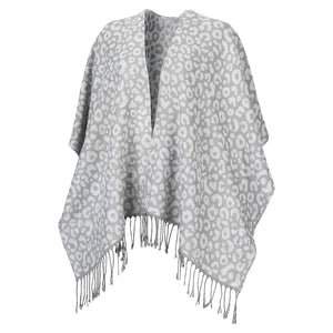 Smokey Leopard Kennedy Shawl