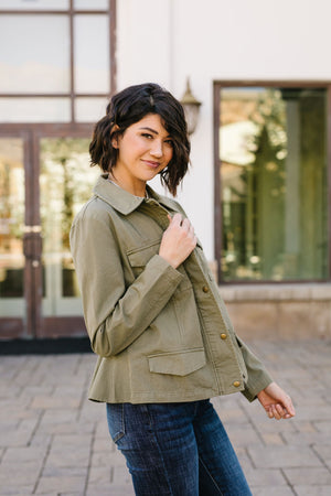 Olive Or Nothing Jacket