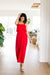Red Hot Maxi Dress