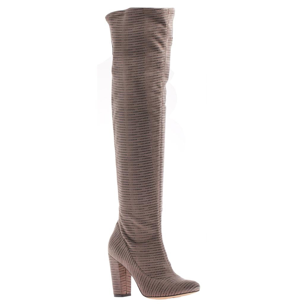 NICOLE - RICCI in TAUPE Over The Knee Boots