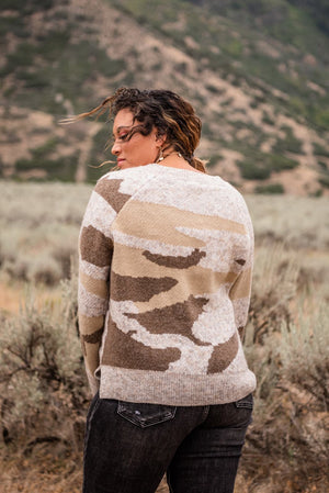Everything About You Camo Sweater