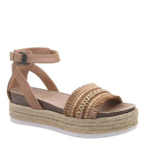 MADELINE GIRL - SPHINX in BROWN SUGAR Wedge Sandals