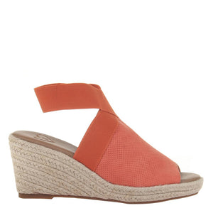 MADELINE - SUNNY DAY in MANDARIN Wedge Sandals