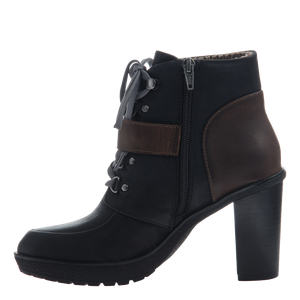 NICOLE - SYLVIE in BLACK Ankle Boots