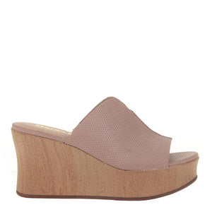 MADELINE GIRL - THROWBACK in WARM PINK Wedge Sandals