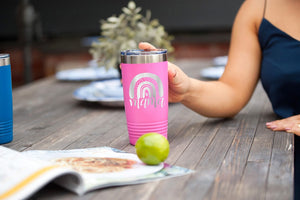Mama Pink 20oz Insulated Tumbler