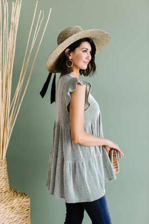Two Timin' Babydoll Tunic
