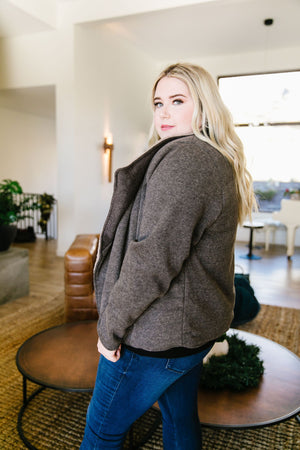 Warm Things Up Sherpa Lined Jacket